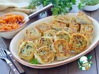 Картофельно-грибные рулетики из лаваша ингредиенты