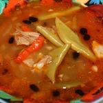 Фасолевый суп по-ливански