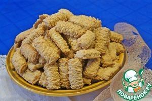 песочное печенье с творогом рецепт на поваренок