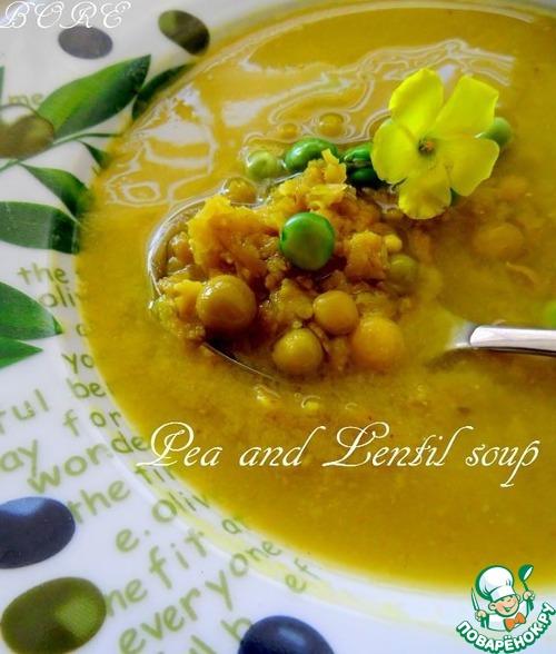 рецепт горохово-чечевичного супа