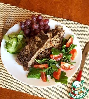 Говядина с гречкой в духовке
