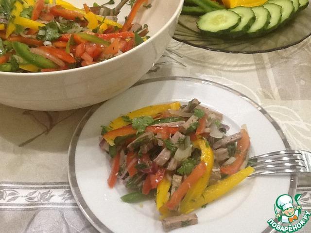 салат рецепт будапешт