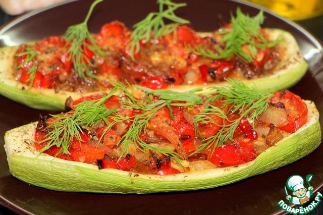Рецепты из кабачков с фото постные в духовке