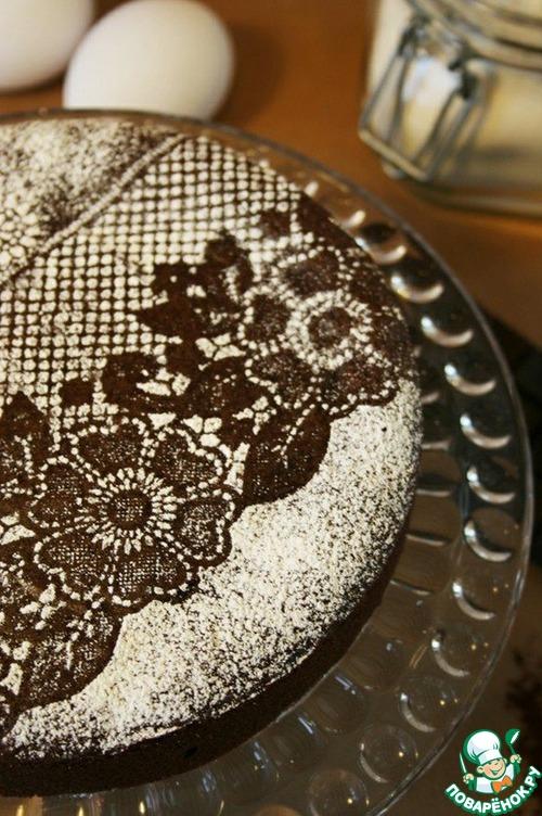 Кружева для торта в домашних условиях