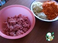 Котлеты из свинины с овощами ингредиенты