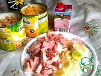 Фасоль в сливочном соусе с беконом ингредиенты