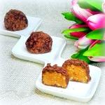 Конфеты из печенья в шоколаде