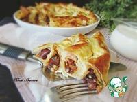 Закусочный лаваш с фасолью и курицей ингредиенты