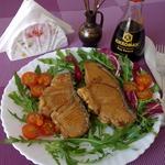 Маринованная рыба с чесноком