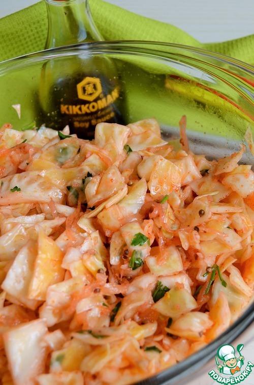 рецепт приготовления капусты по корейски с фото