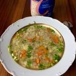 Суп с овощами и перловой крупой