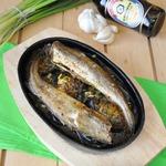 Рыба, запеченная с баклажанами