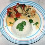 Рыбная мукека с рисом