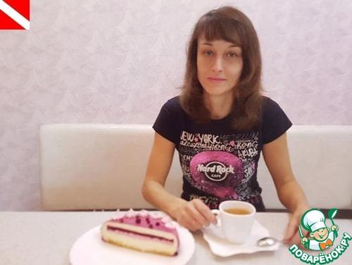 """Торт """"Брусничная фантазия"""""""