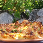 Запеченный картофельный салат
