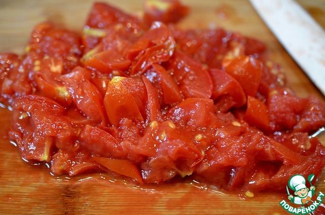 Куриная печеньы с томатной пастой