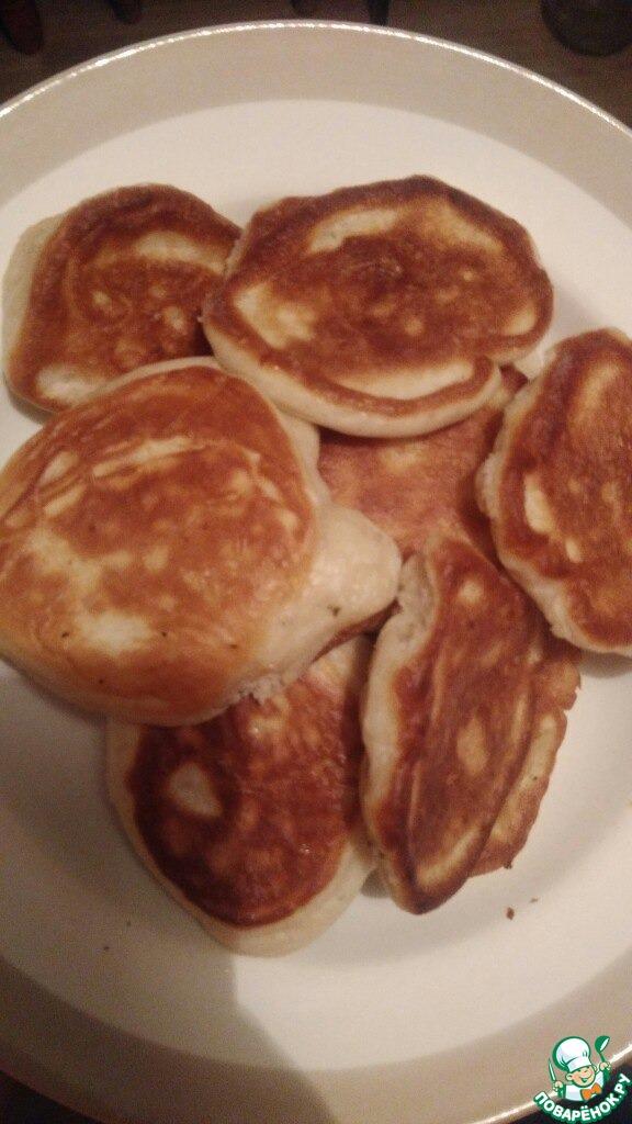 Идеальные оладушки на кефире рецепт
