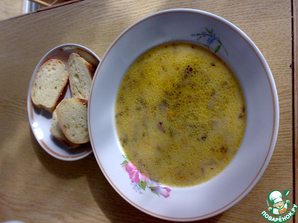 Рецепт сырного супа плавленный пошаговый рецепт