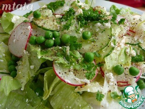 Салат из горошка картофеля