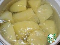 Картофельное пюре с печеным чесноком ингредиенты