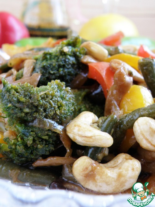 Рецепты брокколи с грибами
