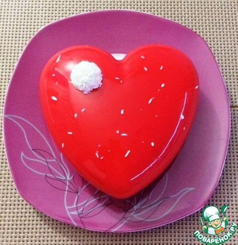 Муссовый торт с зеркальной глазурью рецепт с пошагово 195