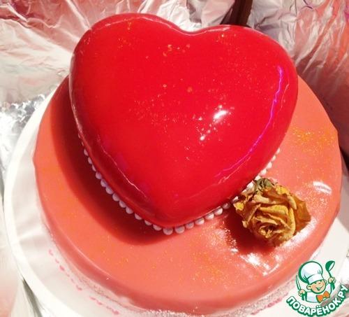 Муссовый торт «Сердце»