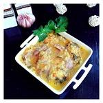 Суп с куриными желудками и чечевицей