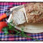Пивной хлеб с беконом и сыром