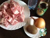 Шашлык в маринаде с киви ингредиенты