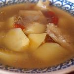Суп из трески с овощами