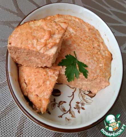 Суфле из нерки рецепт