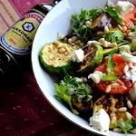 Средиземноморский теплый салат из овощей-гриль