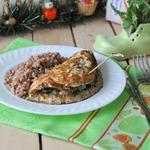 Мясной бризоль с овощами