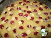 """Сдобный пирог с вишней """"К чаю"""" ингредиенты"""