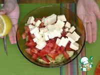 Овощной салат с сельдереем и фетой ингредиенты