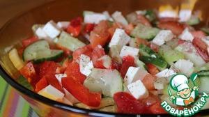 Рецепт: Овощной салат с сельдереем и фетой