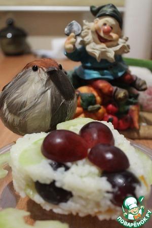 """Рецепт: Салат с рисом """"Освежающий"""""""