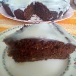 Пряничный кекс с вишней