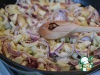 Луковый киш с грушей и брынзой ингредиенты