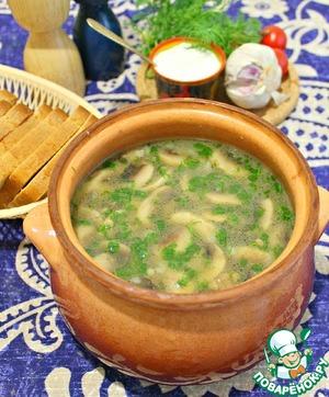 грибной суп с пшеном рецепты
