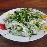 """Салат с пекинской капустой """"Сытное угощение"""""""