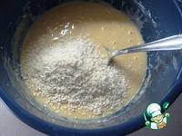 Кисельный кекс с кокосовой стружкой ингредиенты