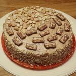 """Домашний торт """"Сникерс"""""""
