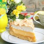 Сливочно-лимонный тарт с меренгой