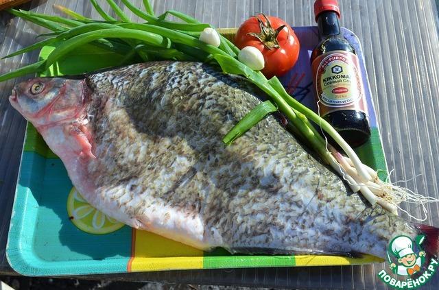 рецепт приготовления леща с овощами