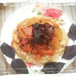 Пшённое табуле с морковью и персиками по-русски