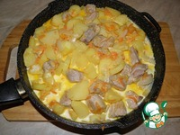 Мясо с картофелем ингредиенты