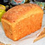 Яблочный десертный хлеб