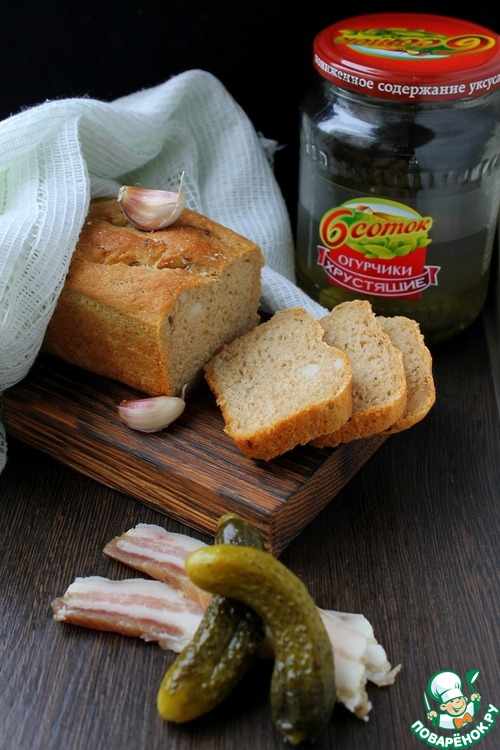Рецепт хлеба с огурцами